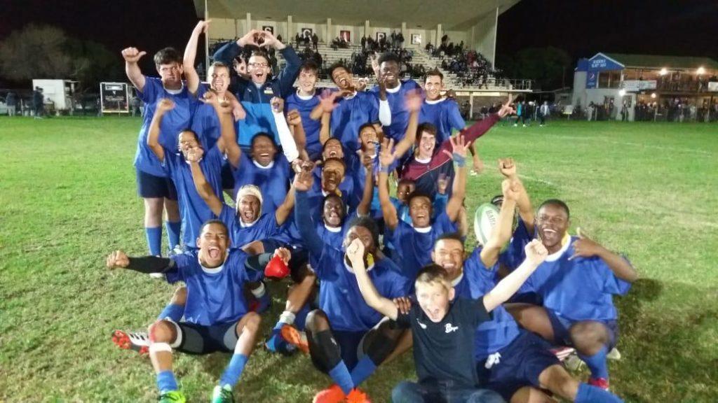 First Team Rugby Match
